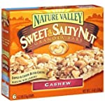 Nature Valley Sweet & Salty Nut Granola Cashew Bars 7.4 oz Reviews