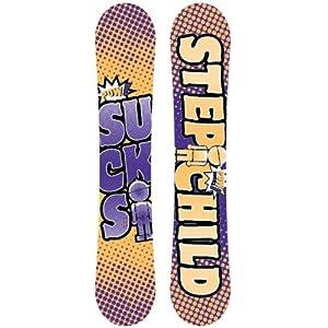 Stepchild Winter 13 Powder Sucks Snowboard Reverse Camber 146