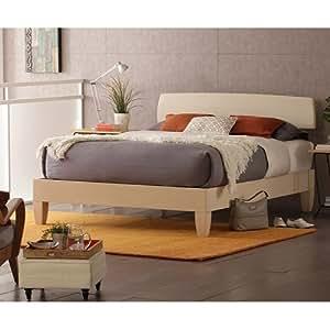 alerion platform bed by charles p rogers king bed open footboard kitchen dining. Black Bedroom Furniture Sets. Home Design Ideas