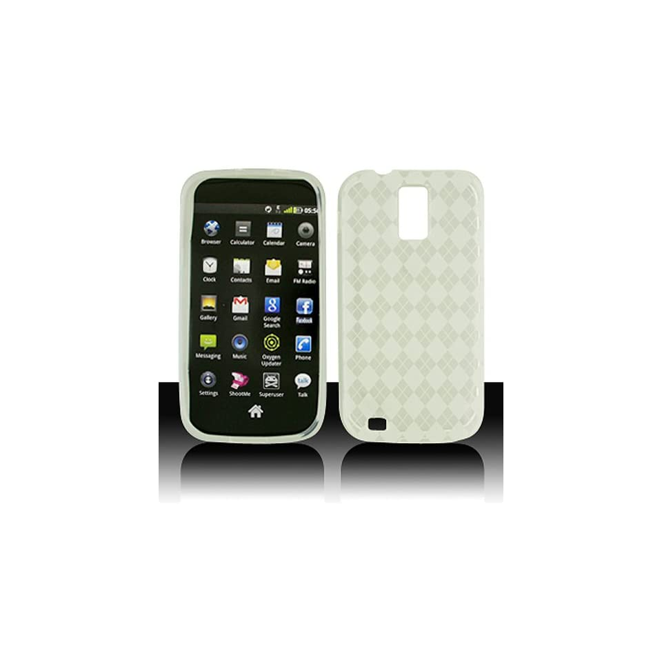Transparent Clear Flex Cover Case for Samsung Galaxy S2 S II T Mobile T989 SGH T989 Hercules Cell Phones & Accessories