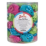 Zanies Polka Dot Mice Cat Toy Canister 45 Catnip Mice Toys