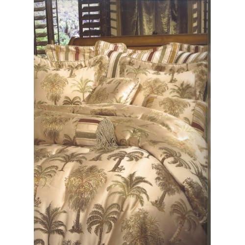 Amazon Com 8pc Southern Textiles Capri Palm Tree King