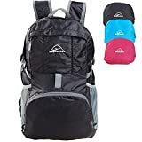 Hopsooken 30L Ultra Lightweight Travel Water Resistant Packable Backpack for Hiking Cycling Sports Daypack Backpack / Ultralight and Handy + Lifetime Warranty
