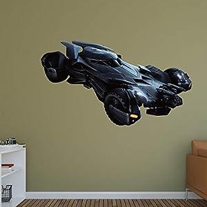 Fathead Batman vs. Superman - Batmobile Wall Decal at Gotham City Store