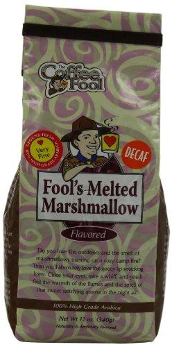 The Coffee Fool Very Fine Grind, Fool'S Decaf Melted Marshmallow, 12 Ounce