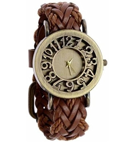 MVS Analogue Brown Dial Women's Watch -MVSA0271