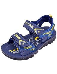 Guys & Dolls Python Navy Blue 2X5 Sandals For Kids