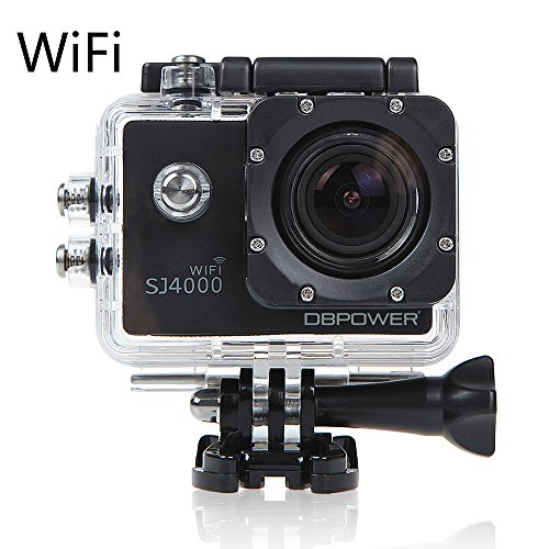 DBPOWER® SJ4000 Wifi Waterproof Action Camera 12MP 1080P HD with Free Accessories Kit