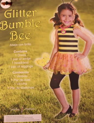 GLITTER BUMBLE BEE COSTUME