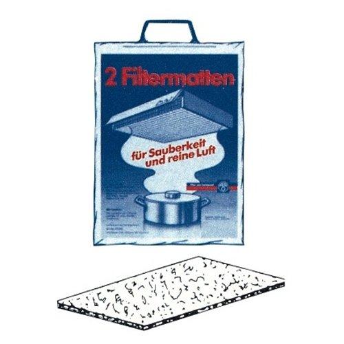 Filtermatten / 2 Filter / für alle Modelle bis 60 cm / Zubehör / Dunstabzugshaube