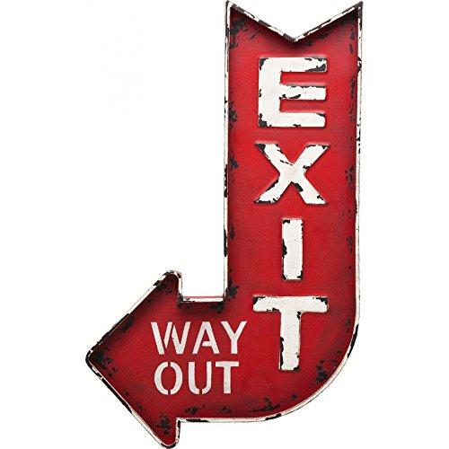 """Kare - Decorazione da parete """"Exit"""""""