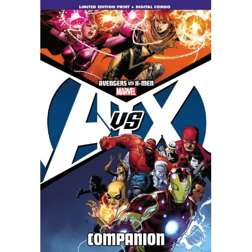 Avengers-Vs-X-men-Companion-Marvel-Comics-Group-Corporate-Author