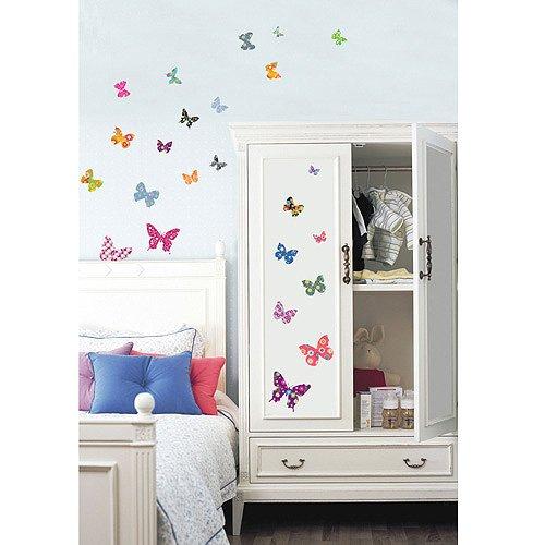 Children's Nursery Room Wall Decal - BUTTERFLIES