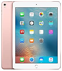 Apple iPad Pro Tablet (9.7 inch, 256GB, Wi-Fi+3G) Rose Gold