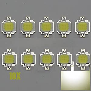 Great deal 10W LED SMD Chip Cool White Bulb High Power 800-900LM LED Lamp for DIY Hot
