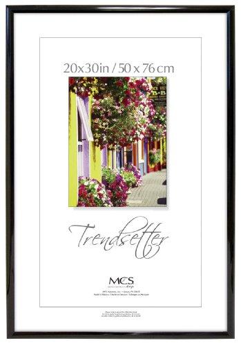 Mcs trendsetter poster frame 20 x 28 black