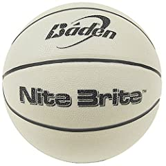 Buy Baden Nite Brite Glow in the Dark Size 6 Rubber Basketball by Baden