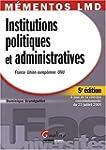 Institutions politiques et administra...