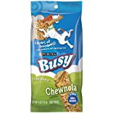 Busy Chewnola Dog Treats, Small/Medium, 4-Ounce Pouch, Pack of 12