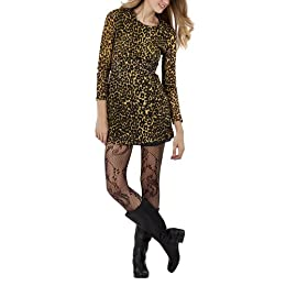 Product Image Rodarte® for Target® Juniors Leopard Print Lace Dress - Black/Yellow