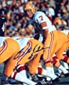 Bill Kilmer Autographed/ Original Signed 8x10 Color Action-photo Quarterbacking the Washington Redskins in the 1970s