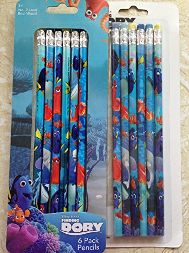 Finding Dory 6 Pack Pencils