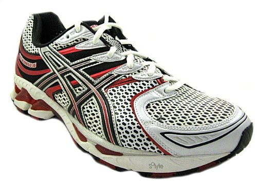 ASICS Men's GEL Kayano 16 Running Shoe,WhiteBlackFire Red