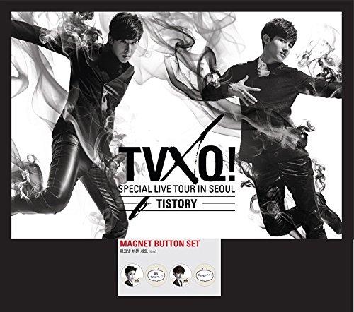 Dong Bang Shin Ki Special Live Tour in Seoul 'TISTORY' Goods - Magnet Button Set (4pcs)