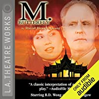 M. Butterfly audio book