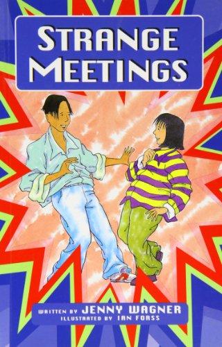 GR - STRANGE MEETINGS (65440) (More Literacy Links Chapter Books)