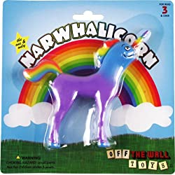 "Funny product Narwhalicorn ""Half Unicorn - Half Narwhal"" (Majestic and Bendable)"