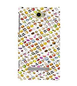 EPICCASE Foddies Mobile Back Case Cover For HTC Windows Phone 8S (Designer Case)