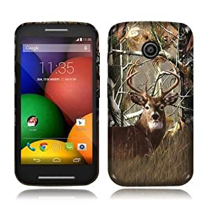 Motorola Moto E Deer Hunter TPU Skin Cover