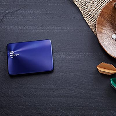 WD My Passport Ultra Metal Edition 2TB Navy - premium storage with style