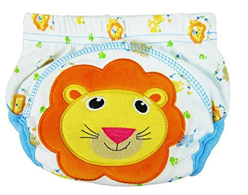Lion You Pick Baby Training Pants Cotton Diaper Washable Summer Short Baby Boys Girls Waterproof Diapers Clothes Nappy S,M,L front-921386