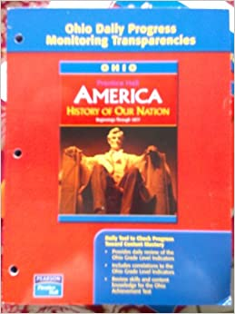 Prentice hall america history of our nation book