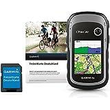Garmin eTrex 30 GPS Handheld + Freizeitkarte Deutschland & 25 Stunden Batterielaufzeit, 3-Achsen-Kompass, Grau