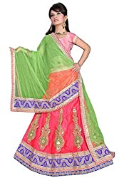 HSFS FESTIVE EMBROIDERED LEHENGA CHOLIS
