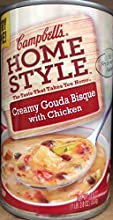 Campbell39s Homestyle Creamy Gouda Bisque with Chicken Soup 188oz Pack of 5