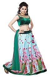 STS Women's mayuri fancy bollywood style lehenga choli