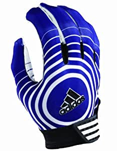 Adidas Supercharge Football Receiver Glove (Royal/White, Large)