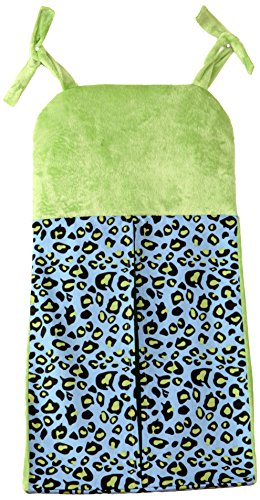 One Grace Place Jazzie Jungle Boy Diaper Stacker, Green, Light Blue, Black