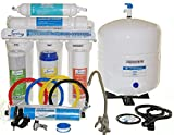 iSpring RCW5 - US legendary 50GPD 5-Stage Under-Counter Reverse Osmosis RO Water Filter with Quick Fitting