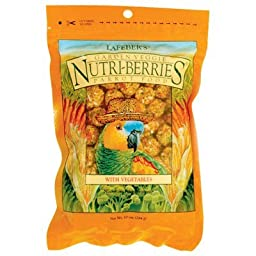 Lafeber\'s Gourmet Garden Veggie Nutri-Berries for Parrots 3lb. Bag