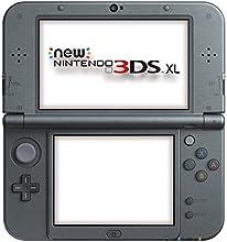 Nintendo Handheld Console 3Ds XL - New Nintendo 3DS XL Metallic - Black [Importación Inglesa]