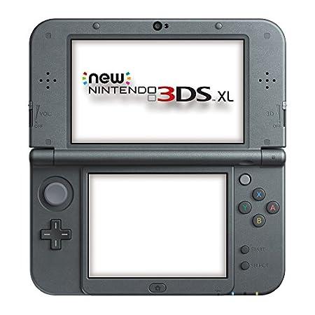 Nintendo Handheld Console 3DS XL - New Nintendo 3DS XL Metallic - Black