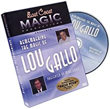 Remembering The Magic Of Lou Gallo by Mike Gallo - DVD