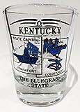 Kentucky Scenery Blue Shot Glass