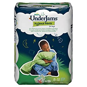 Pampers Underjams changes de nuit, Garçons Taille L/XL Paquet 4x9, 36 changes