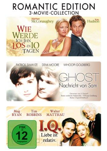 Wie werde ich ihn los in 10 Tagen / Ghost / I.Q. [3 DVDs]